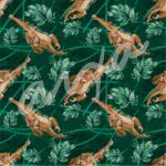 Orangután (patrón jungla)