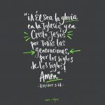 Efesios 3:21