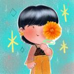 Nena (flor naranja)