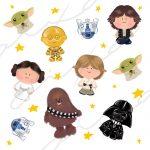 Patrón Star Wars (blanco)