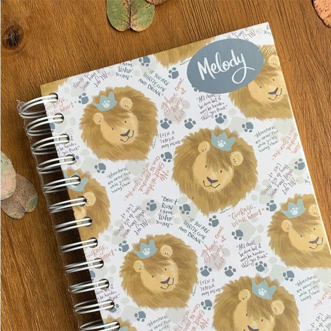 Cuadernos personalizados por Aixa de López